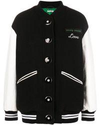 Miu Miu - Love Embroidered Bomber Jacket - Lyst