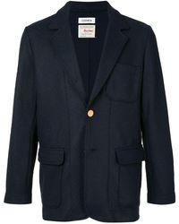 Coohem シングルジャケット - ブルー
