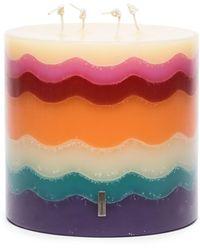 Missoni Torta Wavy Candle - Multicolour