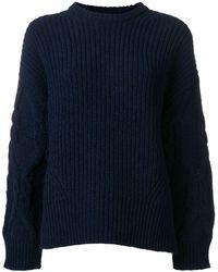 Juun.J Oversized Knit Sweater - Blue