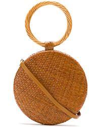Serpui - Woven Shoulder Bag - Lyst