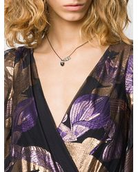Vivienne Westwood Donella Pendant Necklace - Black