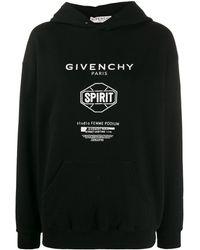 Givenchy - Spirit プリント パーカー - Lyst