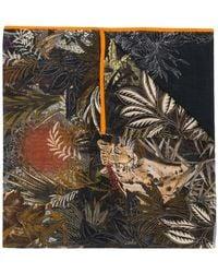 Etro - Fular con estampado tropical - Lyst