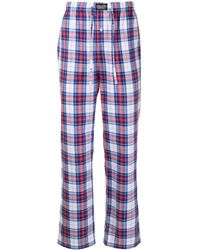 Polo Ralph Lauren Check-pattern Sleeping Pants - Blue