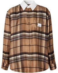 Burberry Клетчатая Рубашка - Многоцветный