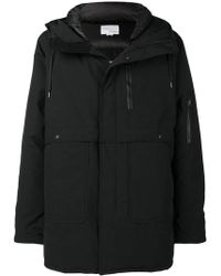 Nanamica - Hooded Padded Coat - Lyst