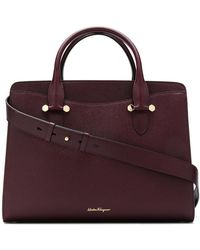 Ferragamo - Large Tote Bag - Lyst