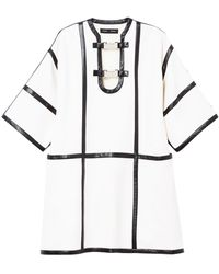 Proenza Schouler Декорированное Платье - Белый