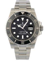 Rolex Наручные Часы Submariner Pre-owned 40 Мм 2015-го Года - Черный