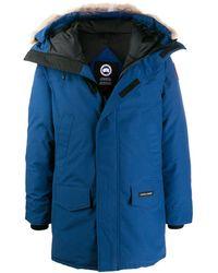 Canada Goose Langford Parka Coat - Blue