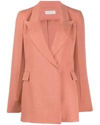 L'Autre Chose - Tailored Blazer Jacket - Lyst
