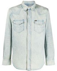 Polo Ralph Lauren Jeanshemd im Western-Look - Blau