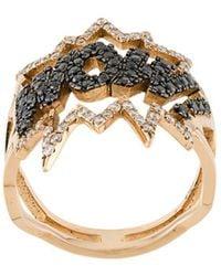 Diane Kordas Wow Ring - Metallic