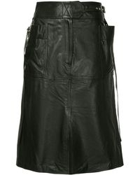 Ambush Aライン スカート - ブラック