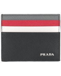Prada - All Designer Products - Colour Block Cardholder - Lyst