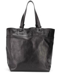 Isabel Marant ロゴ ハンドバッグ - ブラック