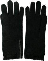 Brunello Cucinelli Перчатки Тонкой Вязки - Черный