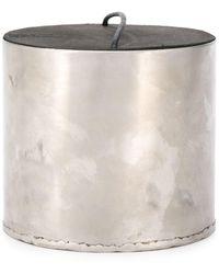 Parts Of 4 Lemongrass Candle 300ml - Metallic