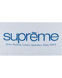 Supreme Five Boroughs Towel - White