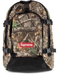 Supreme Fw19 Logo Backpack - Multicolour