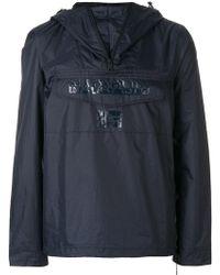 Napapijri - Hooded Windbreaker Jacket - Lyst