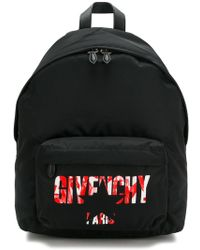 Givenchy - Flowers And Stars Logo Backpack - Lyst