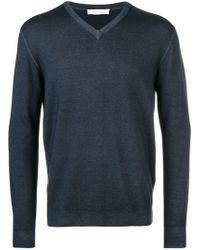 Cruciani - V-neck Pullover - Lyst