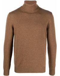 Dell'Oglio カシミア セーター - ブラウン