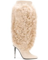 Tom Ford - Shearling Boots - Lyst