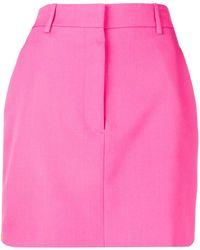 CALVIN KLEIN 205W39NYC レトロ Aライン スカート - ピンク