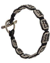 Tobias Wistisen - Framed Skull Bracelet - Lyst
