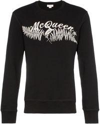 Alexander McQueen - ロゴ スウェットシャツ - Lyst