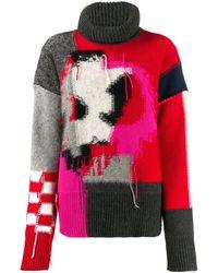 McQ - パッチワーク セーター - Lyst