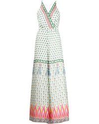 Temperley London - Millais Printed Silk-chiffon Jumpsuit - Lyst