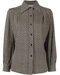 Dior Рубашка Pre-owned С Логотипом - Коричневый