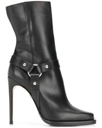 DSquared² High-heeled Biker Boots - Black