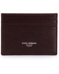 Dolce & Gabbana Pasjeshouder - Bruin