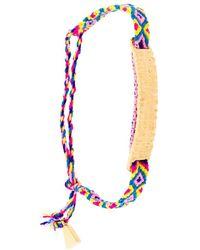 Lucy Folk Bracciale 'Anchovy Friendship' - Multicolore