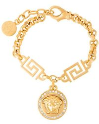Versace | Medusa Rolo Chain Bracelet | Lyst