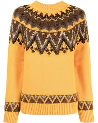 Coohem Nordic Knit Sweater - Yellow