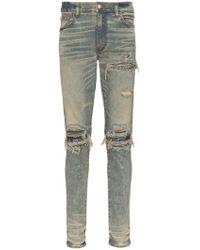 Amiri - Mx1 Bandana Slim Fit Jeans - Lyst
