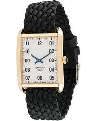 Tom Ford Watches Rechthoekig Horloge - Meerkleurig