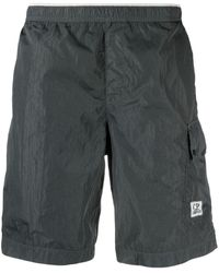 C.P. Company Patch Pocket Swimming Trunks - Grey