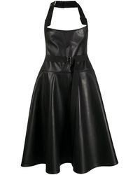 Junya Watanabe オーバーオール ドレス - ブラック