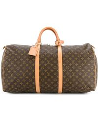 Louis Vuitton Pre-owned Keepall 60 Travel Bag - Brown