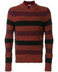Bottega Veneta | Striped Panel Sweater | Lyst