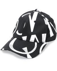 McQ ロゴ キャップ - ブラック