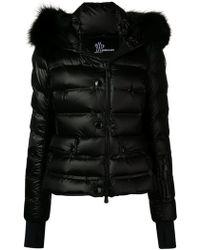 3 MONCLER GRENOBLE Armotech Fur Jacket - Black