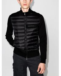 Moncler Logo-detail Puffer Jacket - ブラック